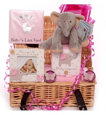 Cute Little Elephant Themed Baby Hamper.