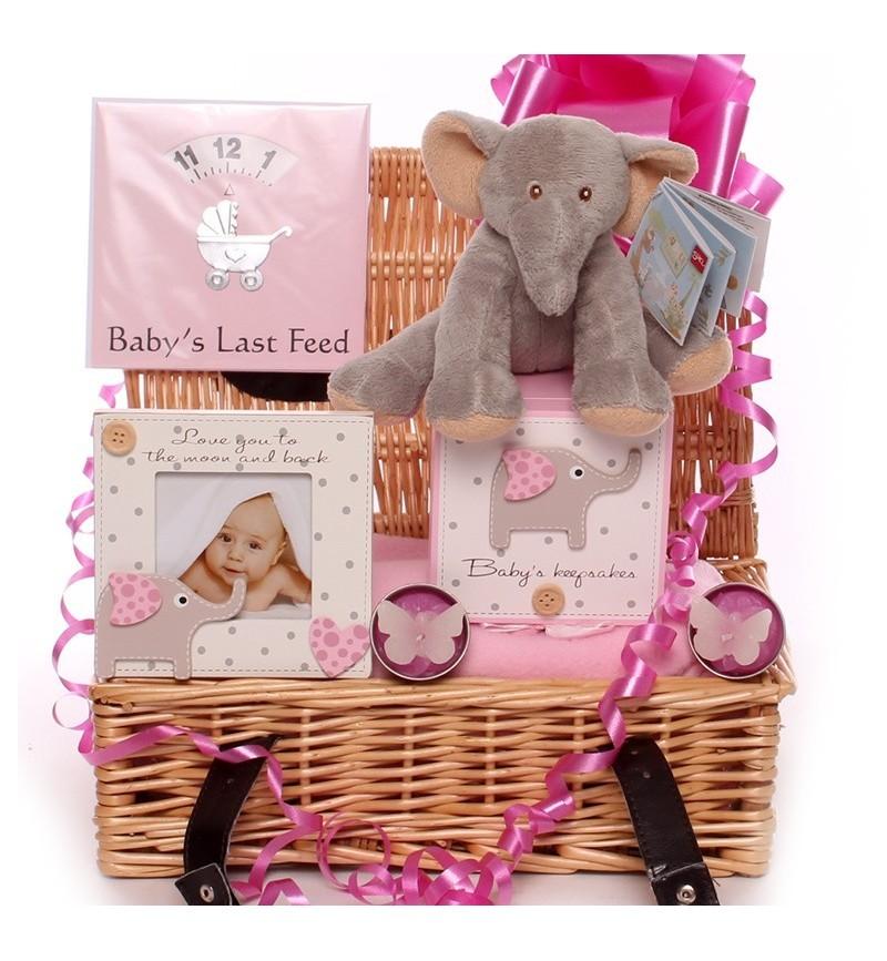 Cute Little Elephant Themed Baby Hamper.