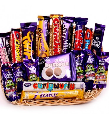Chocolate Gift - A Tray of Cadbury Chocolate.