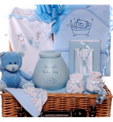 Pots of Money Baby Hamper.