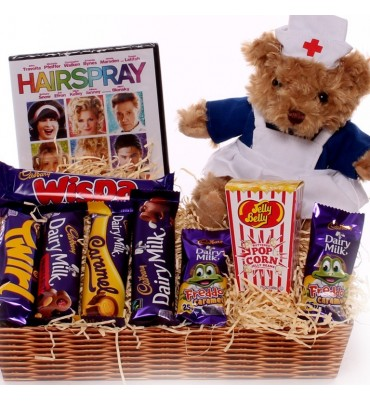 Get Well Gift Tray.