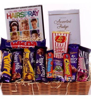DVD chocolate gift tray.