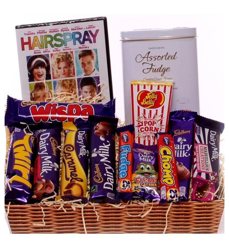 DVD chocolate gift tray.
