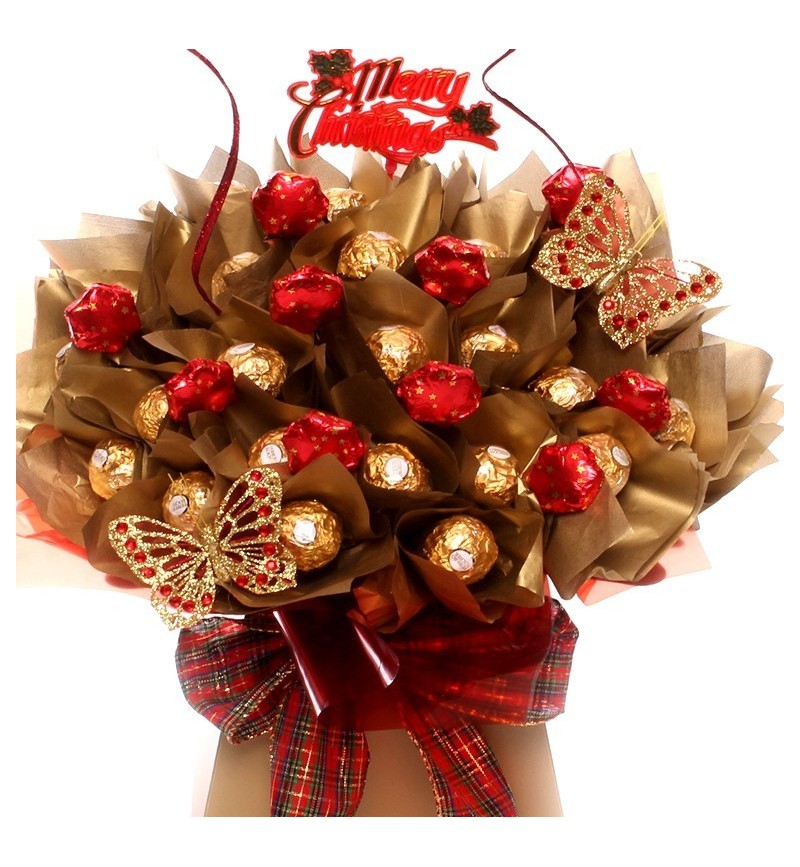 Luxury Christmas Rocher Bouquet