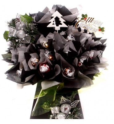 Luxury Christmas Lindor Chocolate Bouquet.
