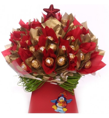 Ferrero Rocher Chocolate Bouquet.