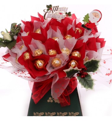 Holly Rocher Truffle Bouquet.