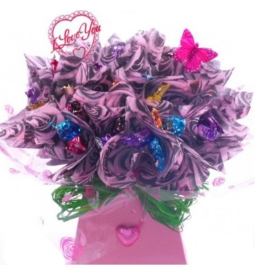 Large Thorntons Chocolate Bouquet.
