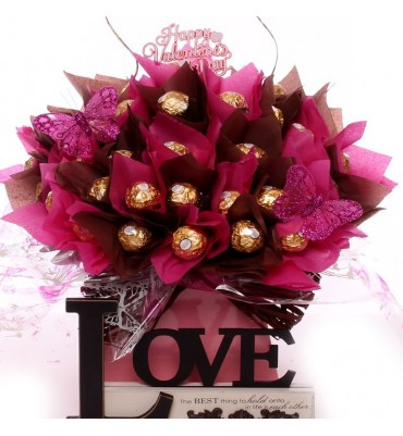 The Best Thing In Life Rocher Bouquet.