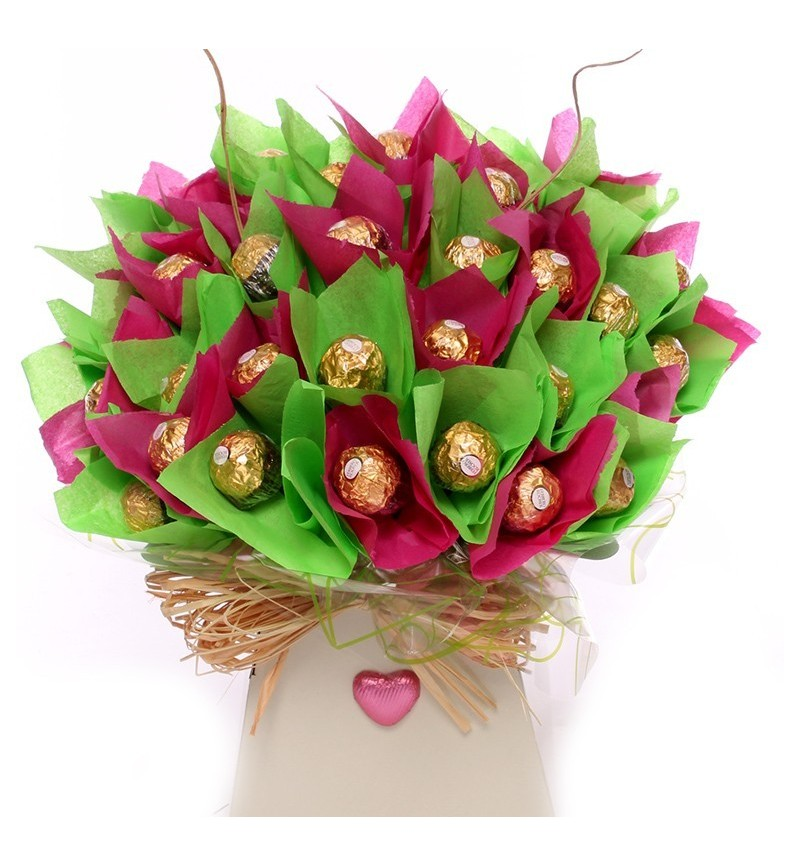 Contemporary Wedding Gifts: Contemporary Chocolate Bouquet For A Wedding
