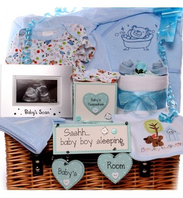 Ssshh Baby Boy Sleeping Baby Hamper.