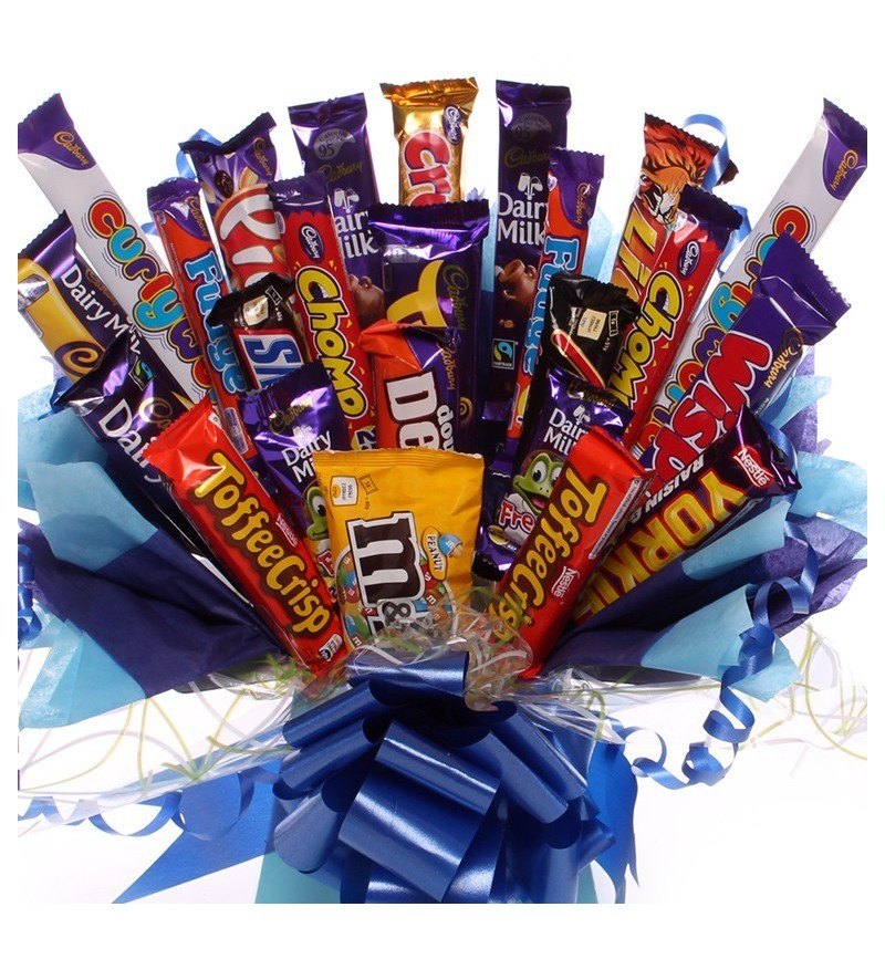 Extra Large Chocolate Bouquet for Boys.