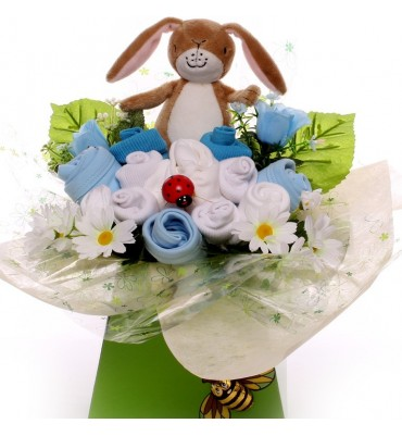 Guess How Much I Love You Baby Boy Bouquet.