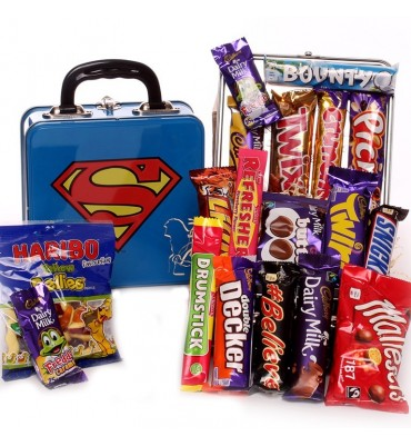 Superman Chocolate and Sweet Tin.
