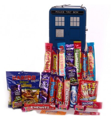 Dr Who Public Box Lunch Tin Filled With Sweets.