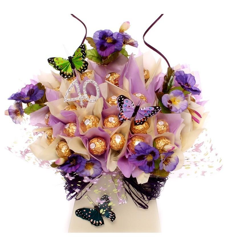 40th Birthday Stunning Luxury Ferrero Rocher Bouquet.