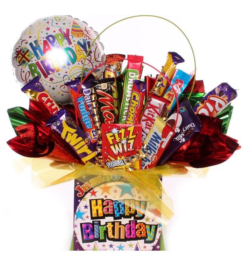 Big Happy Birthday Chocolate Bouquet.