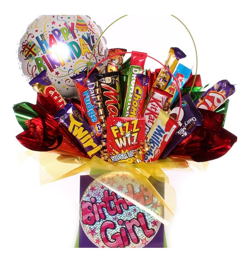 Birthday Girl Chocolate Bouquet.