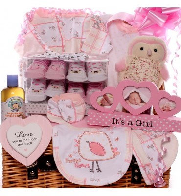 Little Bird Welcome To The World New Baby Hamper.