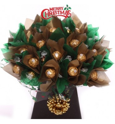 Chocolate Bouquet For Christmas.