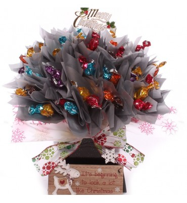 Thornton's Moments Chocolate Bouquet Look Like Christmas.