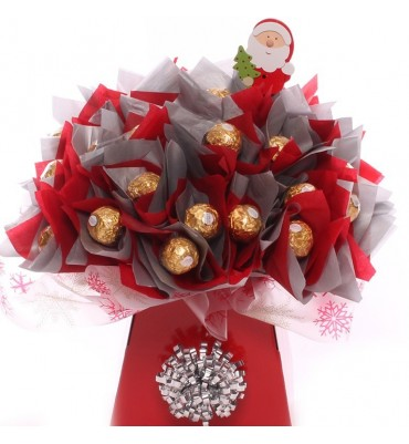 Christmas Special Ferrero Rocher Chocolate Bouquet.