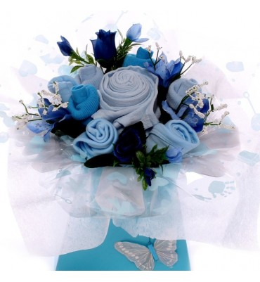Baby Bouquet Baby Boy Token Gift.