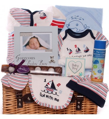Sail With Me Baby Boy Hamper.