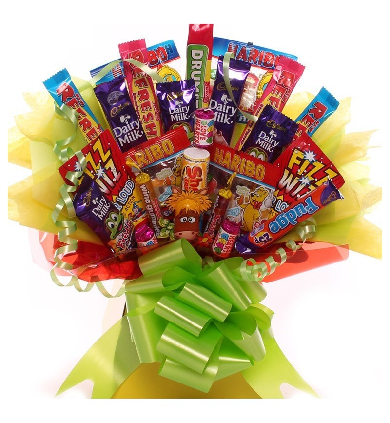 Sweet and Chocolate Bouquet Gift | Bouquet made from Sweets