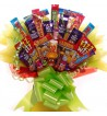 Bright and Cheerful Sweet and Chocolate Bouquet.