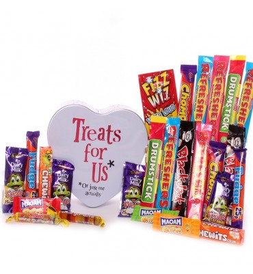 Treats For Us Sweetie Tin Gift.