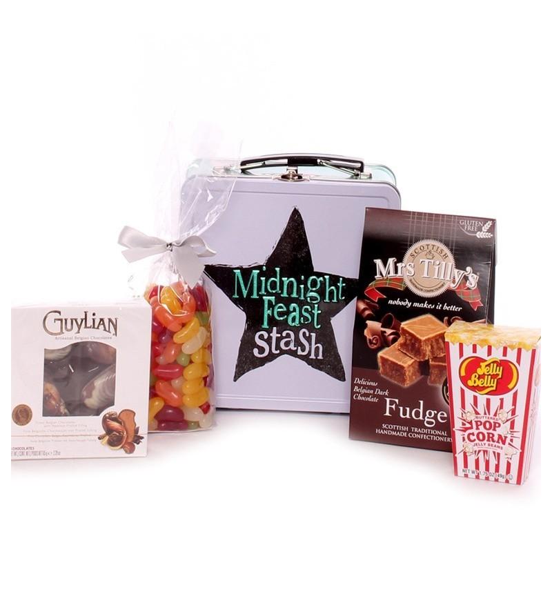 Midnight Feast Stash Food Gift Tin.
