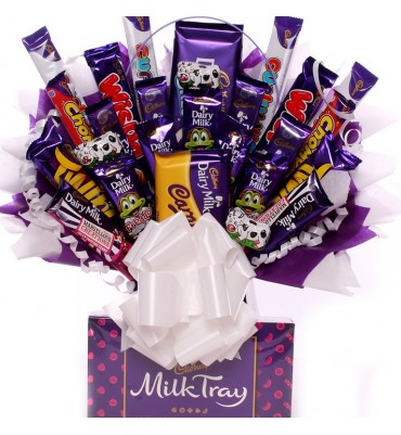 Massive Chocolate Bouquet With Cadbury Chocolates.