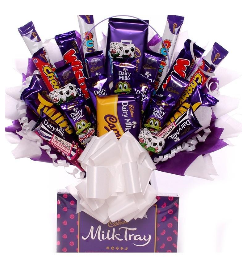 Massive Chocolate Bouquet With Cadbury Chocolates.