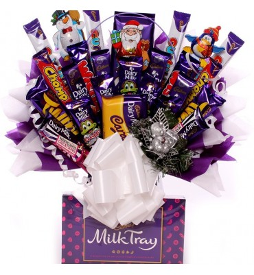 Massive Christmas Cadbury Chocolate Bouquet.