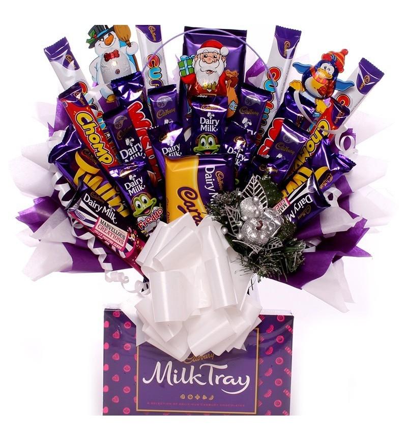 Massive Christmas Cadbury Chocolate Bouquet.