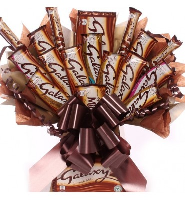 Galaxy Chocolate Bouquet Giant Size.
