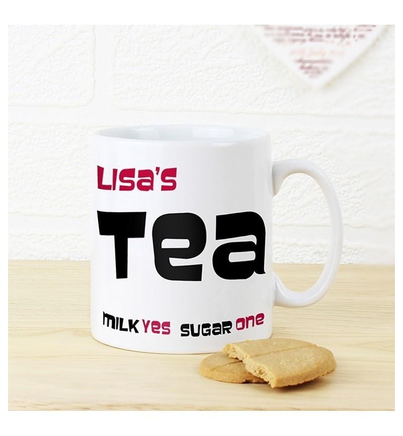 Personalised Tea Mug