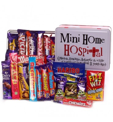 Mini Home Hospital Tin Filled With Sweets.