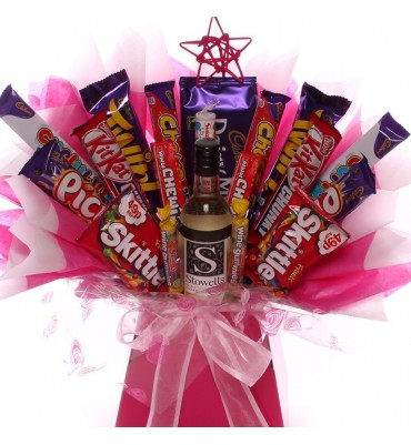 Wine and Chocolate Bouquet, white wine Chocolate Bouquet
