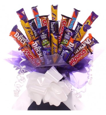 Budget Chocolate Bouquet.