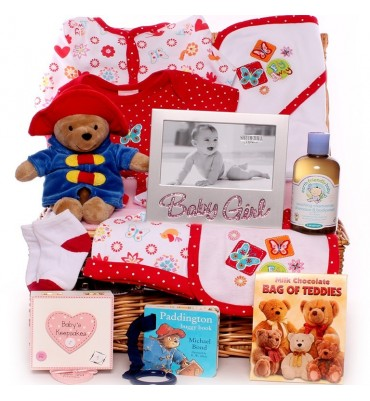 Paddington Bear Baby Hamper.