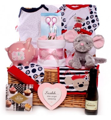My Little Mouse Baby Girl Hamper.
