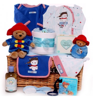 Little Bear Baby Boy Hamper.