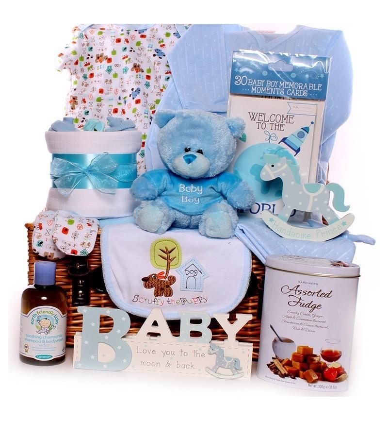 c1bfa5b8f Baby Boy Gift Basket
