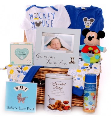 Mickey Mouse Baby Hamper.