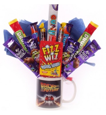 Back To The Future Chocolate Bouquet In A Mug.