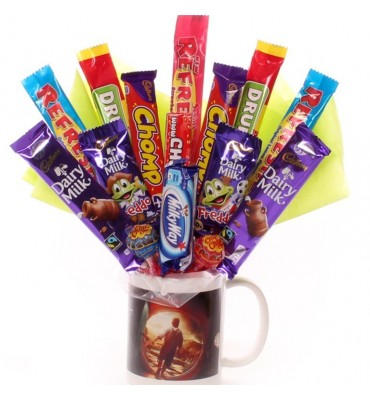The Hobit Mug Chocolate Bouquet