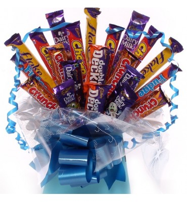Bargain Chocolate Bouquet For Him.