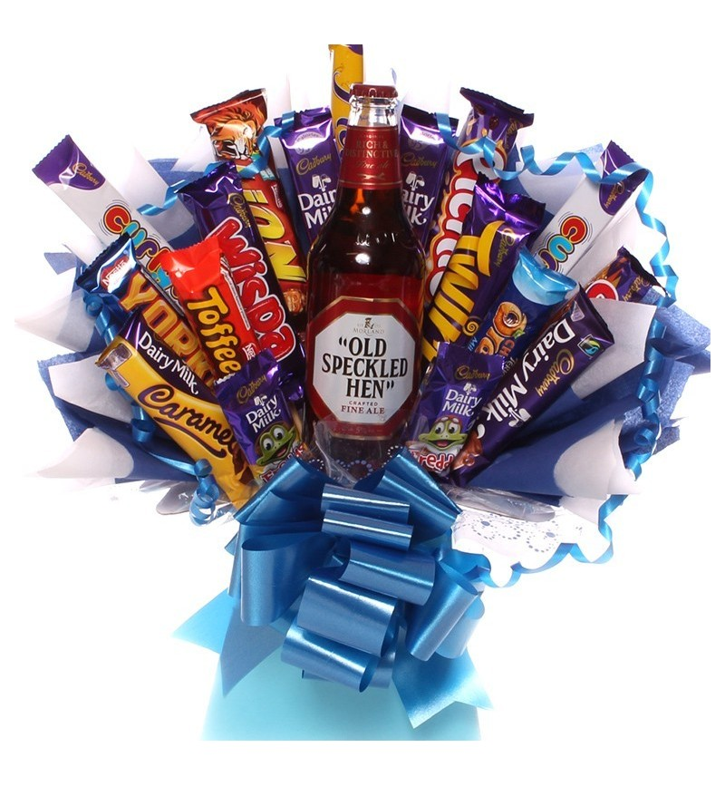 Old Speckled Hen Chocolate Bouquet.